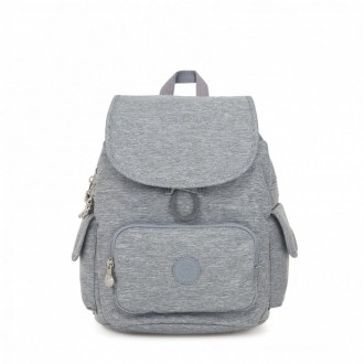 Vacances Noel 2019 | Kipling Small backpack Cool Denim pas cher