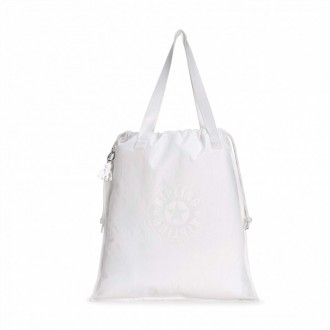 Black Friday 2020 | Kipling Sac Cabas Léger Lively White pas cher
