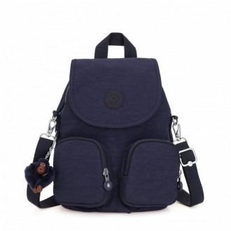 Black Friday 2020 | Kipling Petit sac à dos transformable en sac à bandoulière Active Blue pas cher