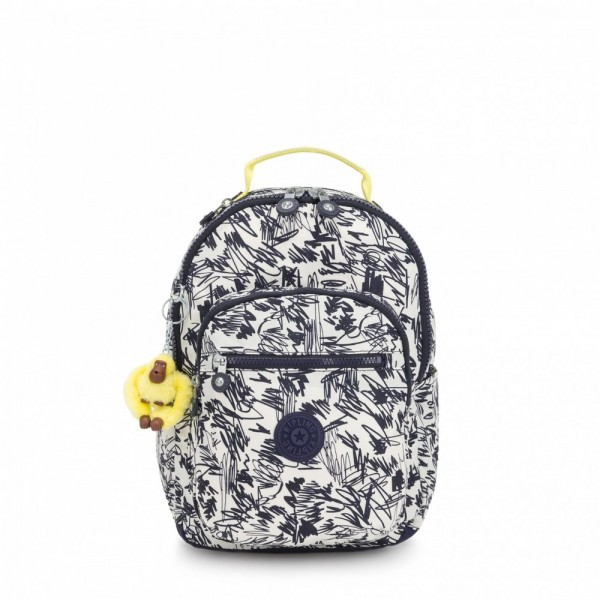 [Black Friday 2019] Kipling Petit Sac à Dos Scribble Fun Bl pas cher