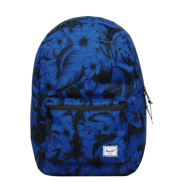 Vacances Noel 2019 | Herschel Sac à dos Settlement jungle floral blue vente