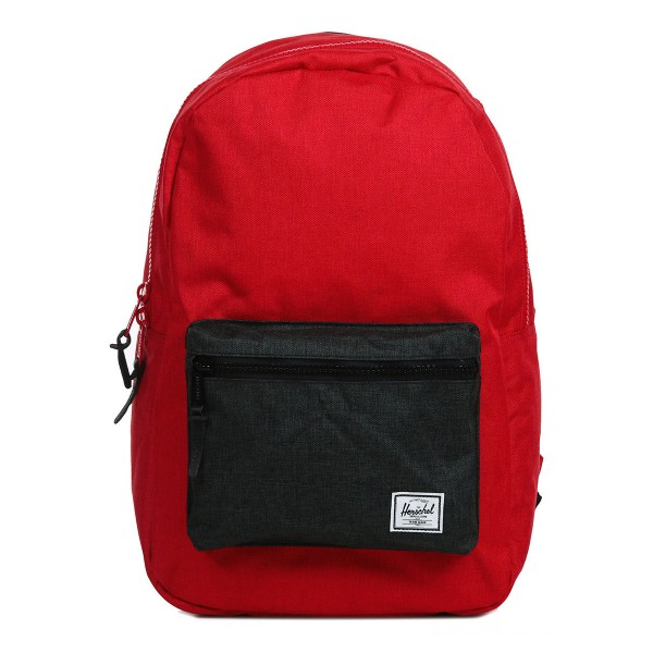 Herschel Sac à dos Settlement barbados cherry crosshatch/black crosshatch vente