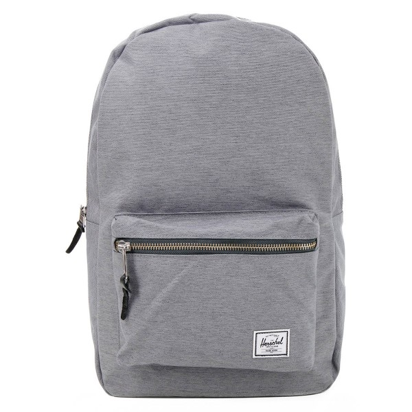 Black Friday 2020 | Herschel Sac à dos Settlement mid grey crosshatch vente