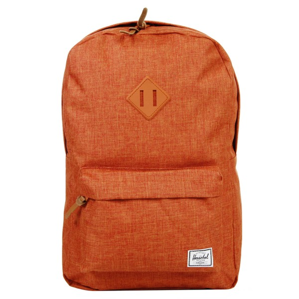 Herschel Sac à dos Heritage burnt orange crosshatch vente