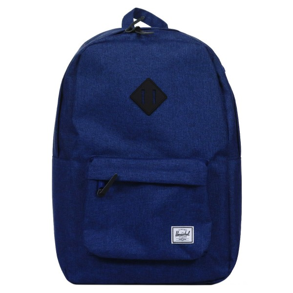 Vacances Noel 2019 | Herschel Sac à dos Heritage eclipse crosshatch/black rubber vente