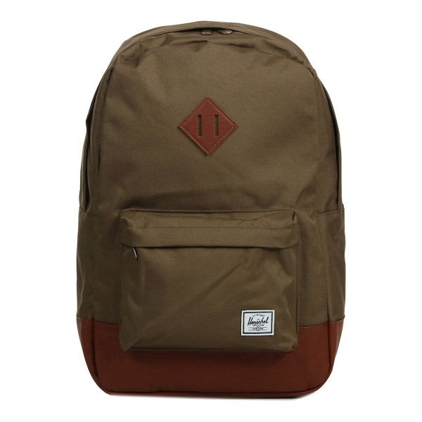 Herschel Sac à dos Heritage cub/tan synthetic leather vente