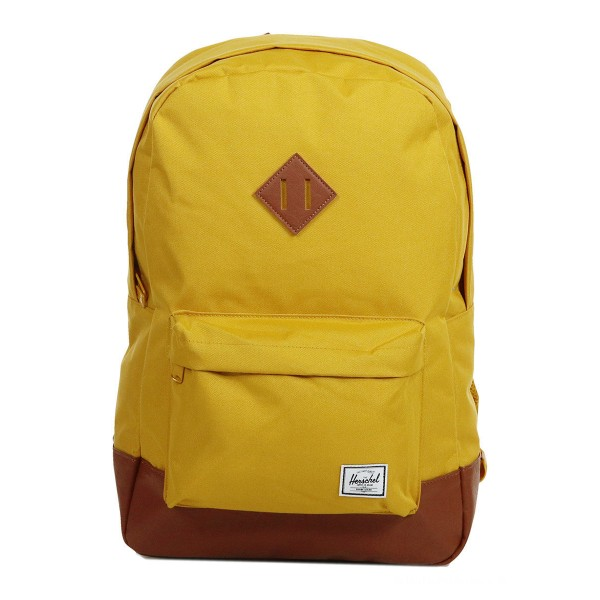 Black Friday 2020 | Herschel Sac à dos Heritage arrowwood/tan synthetic leather vente