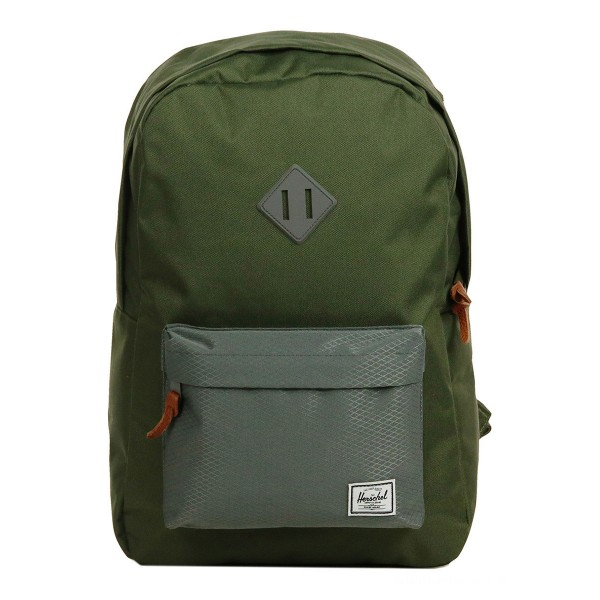 [Black Friday 2019] Herschel Sac à dos Heritage ivy green/smoked pearl vente