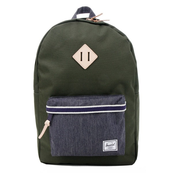 Herschel Sac à dos Heritage Offset forest night/ dark denim vente