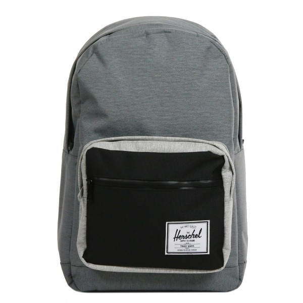 Herschel Sac à dos Pop Quiz mid grey crosshatch/black vente