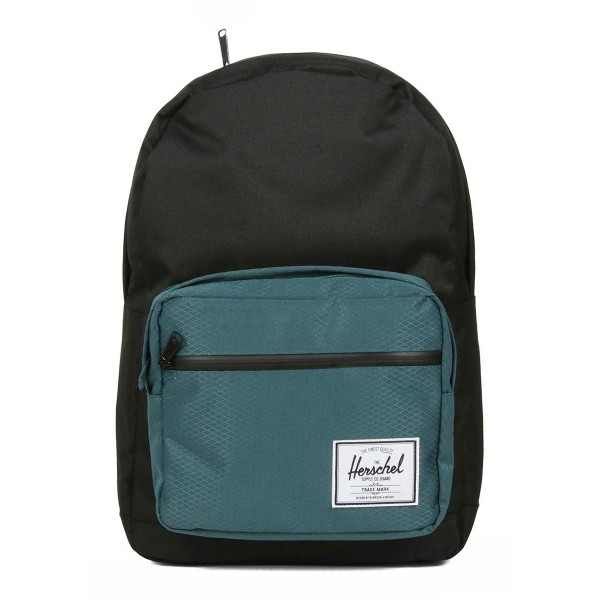 Vacances Noel 2019 | Herschel Sac à dos Pop Quiz black/deep teal vente