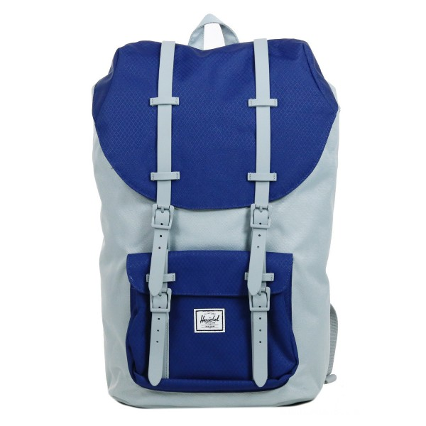Herschel Sac à dos Little America quarry/blueprint/quarry rubber vente
