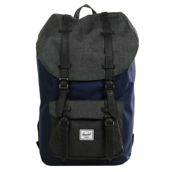Vacances Noel 2019 | Herschel Sac à dos Little America peacoat/black crosshatch vente