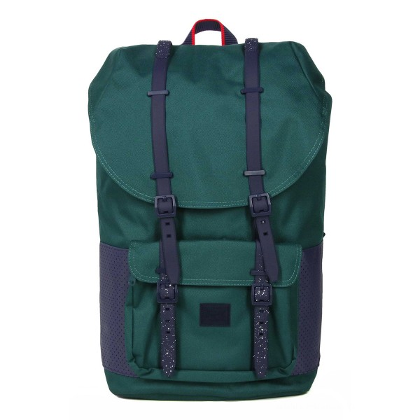 Vacances Noel 2019 | Herschel Sac à dos Little America Aspect deep teal/peacoat vente