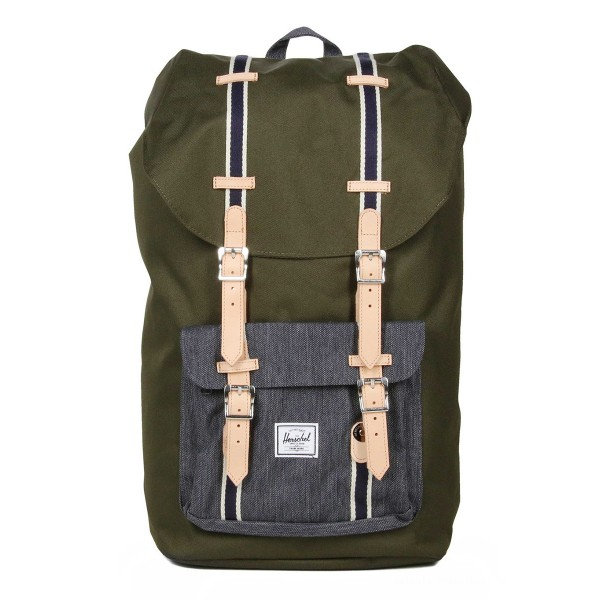Black Friday 2020 | Herschel Sac à dos Little America Offset forest night/ dark denim vente