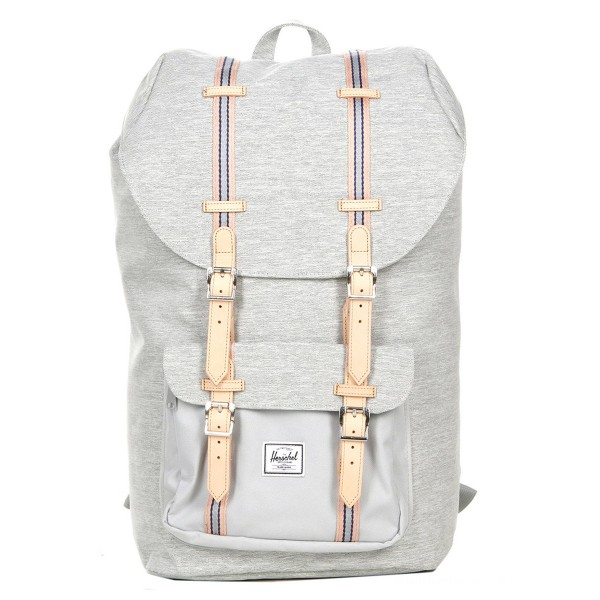 Black Friday 2020 | Herschel Sac à dos Little America Offset light grey crosshatch/high rise vente