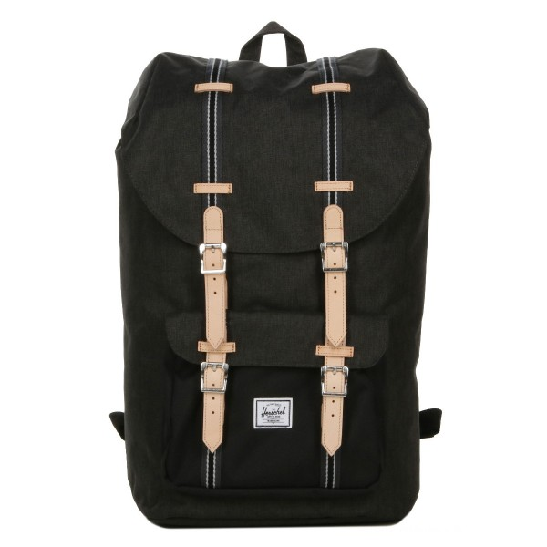 [Black Friday 2019] Herschel Sac à dos Little America Offset black crosshatch/black vente