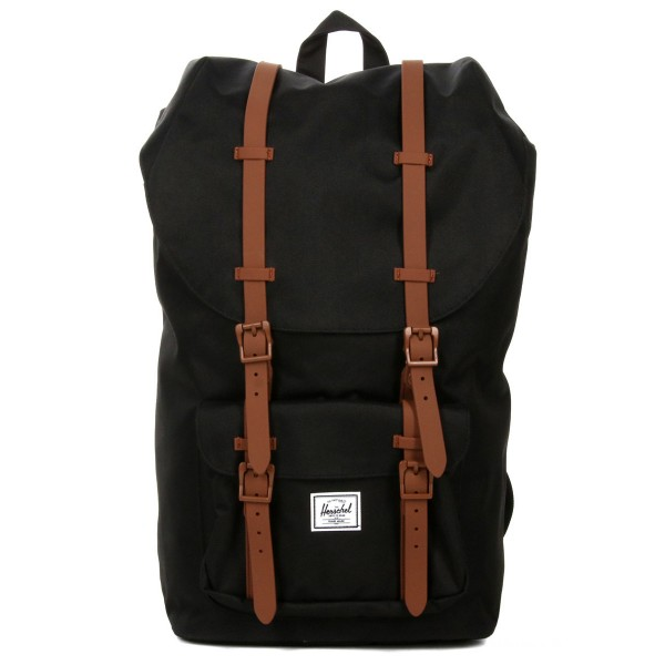 [Black Friday 2019] Herschel Sac à dos Little America black/saddle brown vente