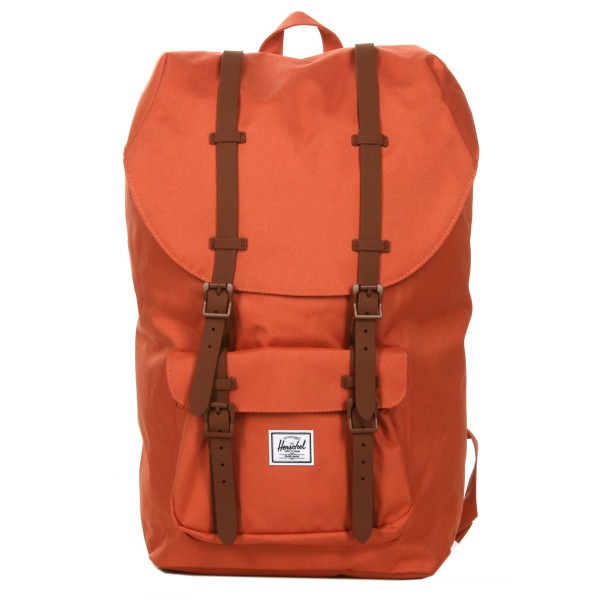 Vacances Noel 2019 | Herschel Sac à dos Little America apricot brandy/saddle brown vente