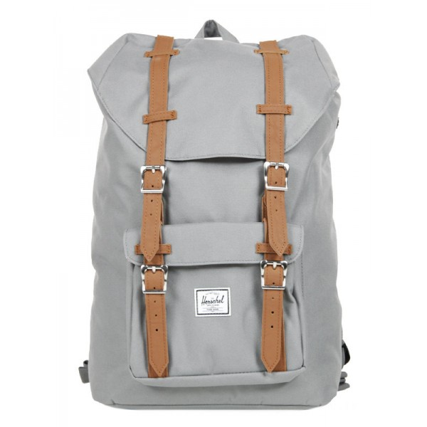 Herschel Sac à dos Little America Mid Volume grey/tan vente