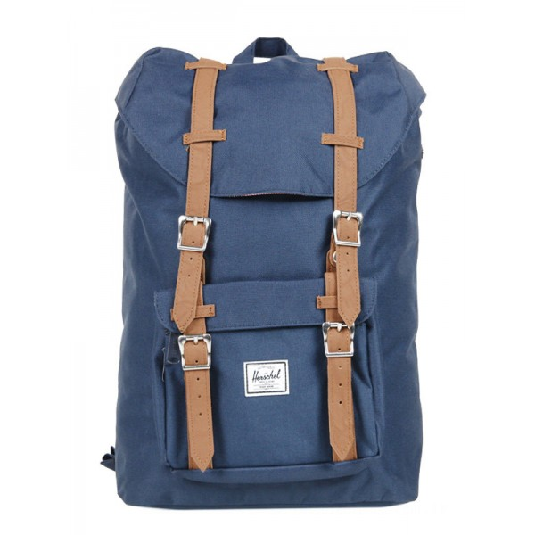 Herschel Sac à dos Little America Mid Volume navy/tan vente
