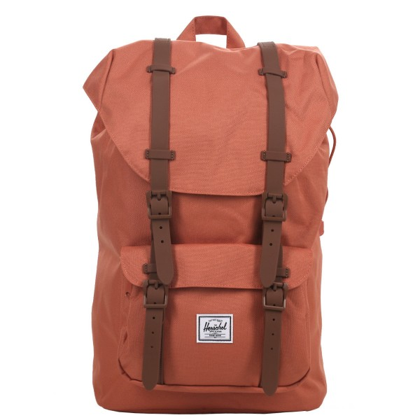 Black Friday 2020 | Herschel Sac à dos Little America Mid Volume apricot brandy/saddle brown vente