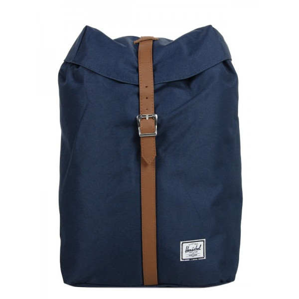 Vacances Noel 2019 | Herschel Sac à dos Post Mid Volume navy vente