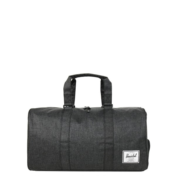 Vacances Noel 2019 | Herschel Sac de voyage Novel 52 cm black crosshatch vente