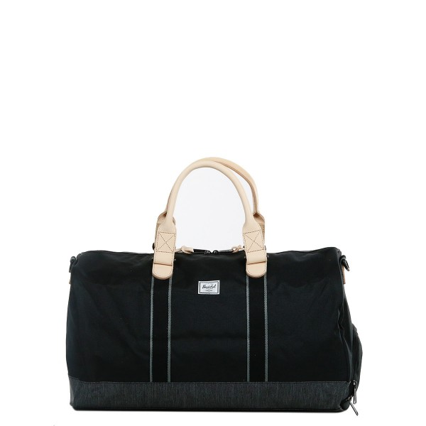 Herschel Sac de voyage Novel Offset 52 cm black/black denim vente