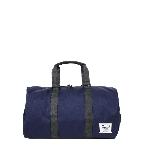 Herschel Sac de voyage Novel 52 cm peacoat/black crosshatch vente