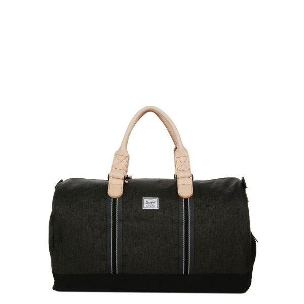 Black Friday 2020 | Herschel Sac de voyage Novel Offset 52 cm black crosshatch/black vente