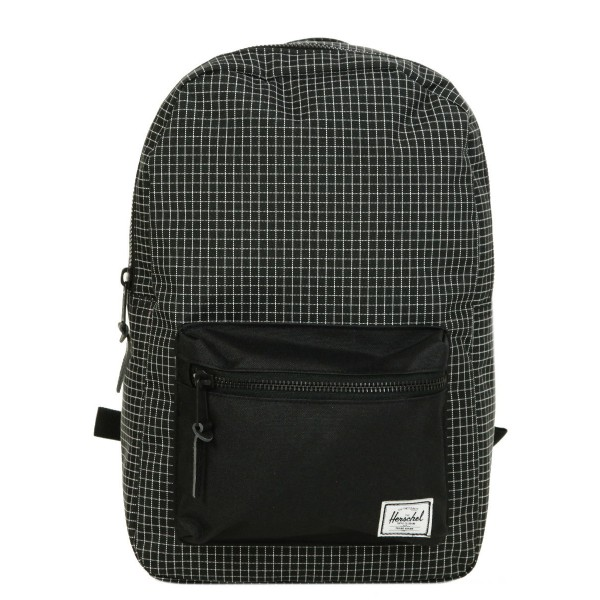 Black Friday 2020 | Herschel Sac à dos Settlement Mid Volume black grid vente