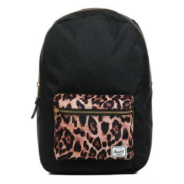 Black Friday 2020 | Herschel Sac à dos Settlement Mid Volume black/desert cheetah vente