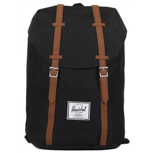 Herschel Sac à dos Retreat black/tan vente