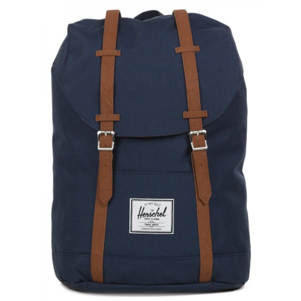 Herschel Sac à dos Retreat navy/tan vente