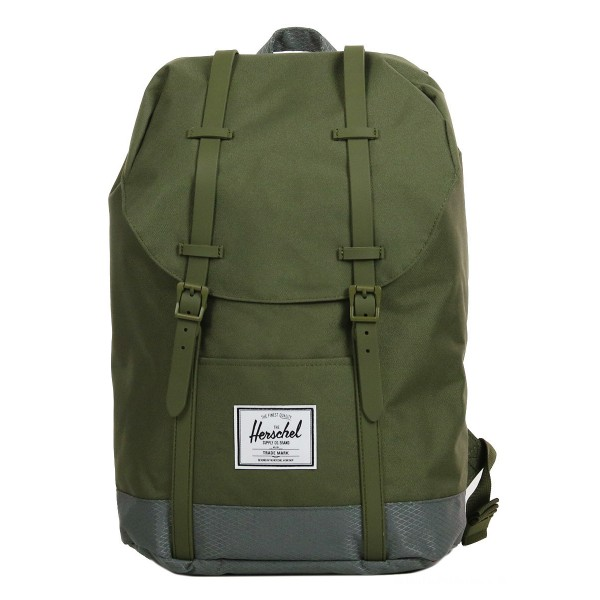 Vacances Noel 2019 | Herschel Sac à dos Retreat ivy green/smoked pearl vente