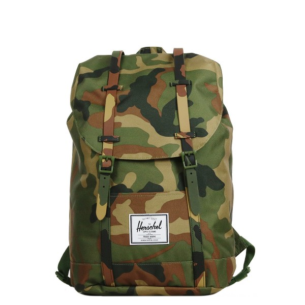 Vacances Noel 2019 | Herschel Sac à dos Retreat woodland camo vente