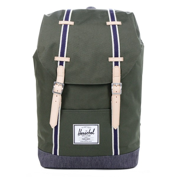 Vacances Noel 2019 | Herschel Sac à dos Retreat Offset forest night/ dark denim vente