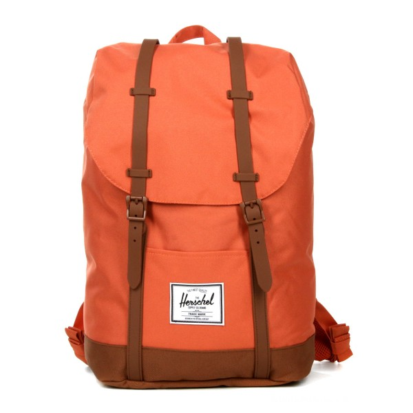 Herschel Sac à dos Retreat apricot brandy/saddle brown vente