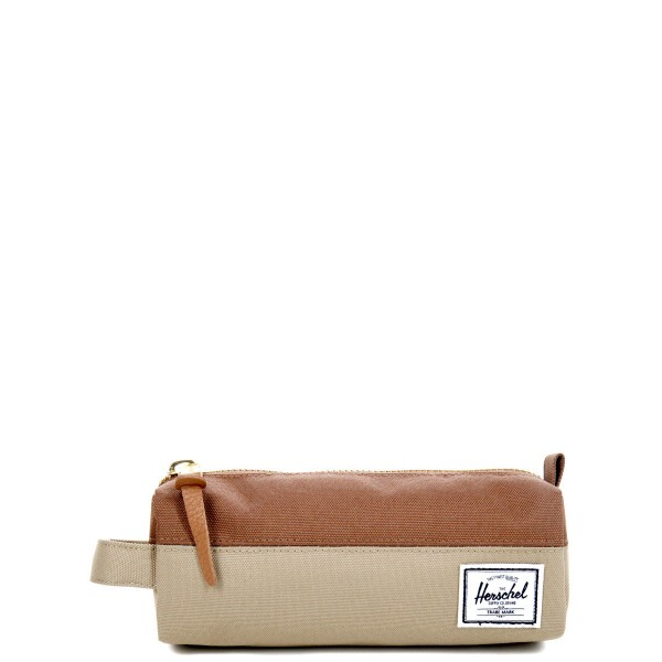 Herschel Trousse Settlement Case kelp/saddle brown vente