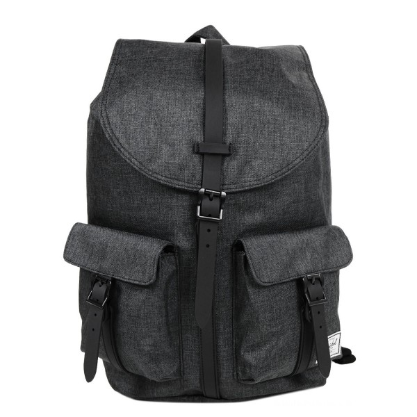 Vacances Noel 2019 | Herschel Sac à dos Dawson black crosshatch/black rubber vente