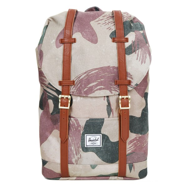 Vacances Noel 2019 | Herschel Sac à dos Retreat Mid-Volume brushstroke camo vente