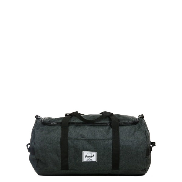 Black Friday 2020 | Herschel Sac de voyage Sutton 59 cm black crosshatch/black rubber vente