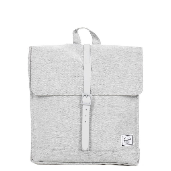 Herschel Sac à dos City Mid-Volume light grey crosshatch vente
