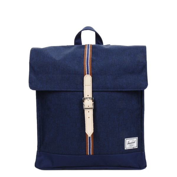 Vacances Noel 2019 | Herschel Sac à dos City Mid-Volume Offset medieval blue crosshatch/medieval blue vente