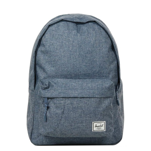 Black Friday 2020 | Herschel Sac à dos Classic dark chambray crosshatch vente