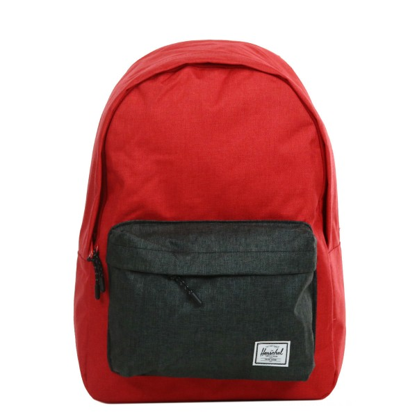 Herschel Sac à dos Classic barbados cherry crosshatch/black crosshatch vente