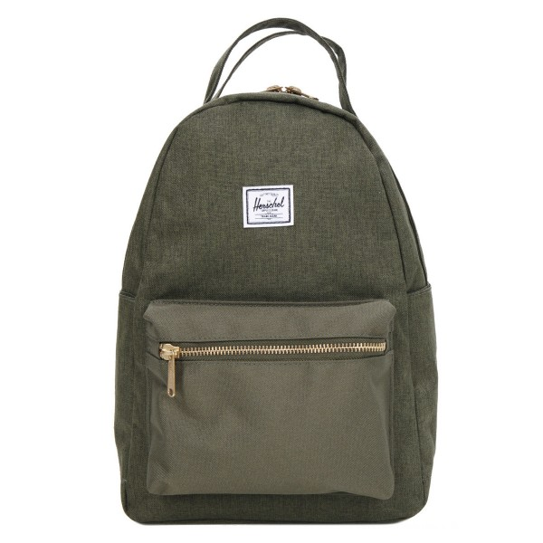 Herschel Sac à dos Nova X-Small olive night crosshatch/olive night vente