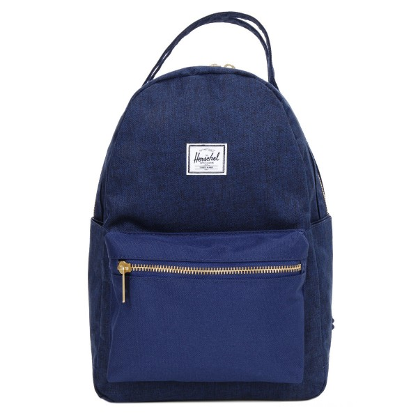 Herschel Sac à dos Nova X-Small medievel blue crosshatch/medievel blue vente