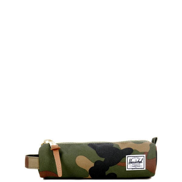 Vacances Noel 2019 | Herschel Trousse Settlement Case X-Small woodland camo vente